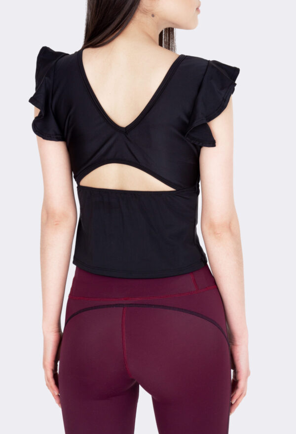 Cropped Barre Black