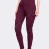 Leggings Jana in Bordeauxrot von vorne