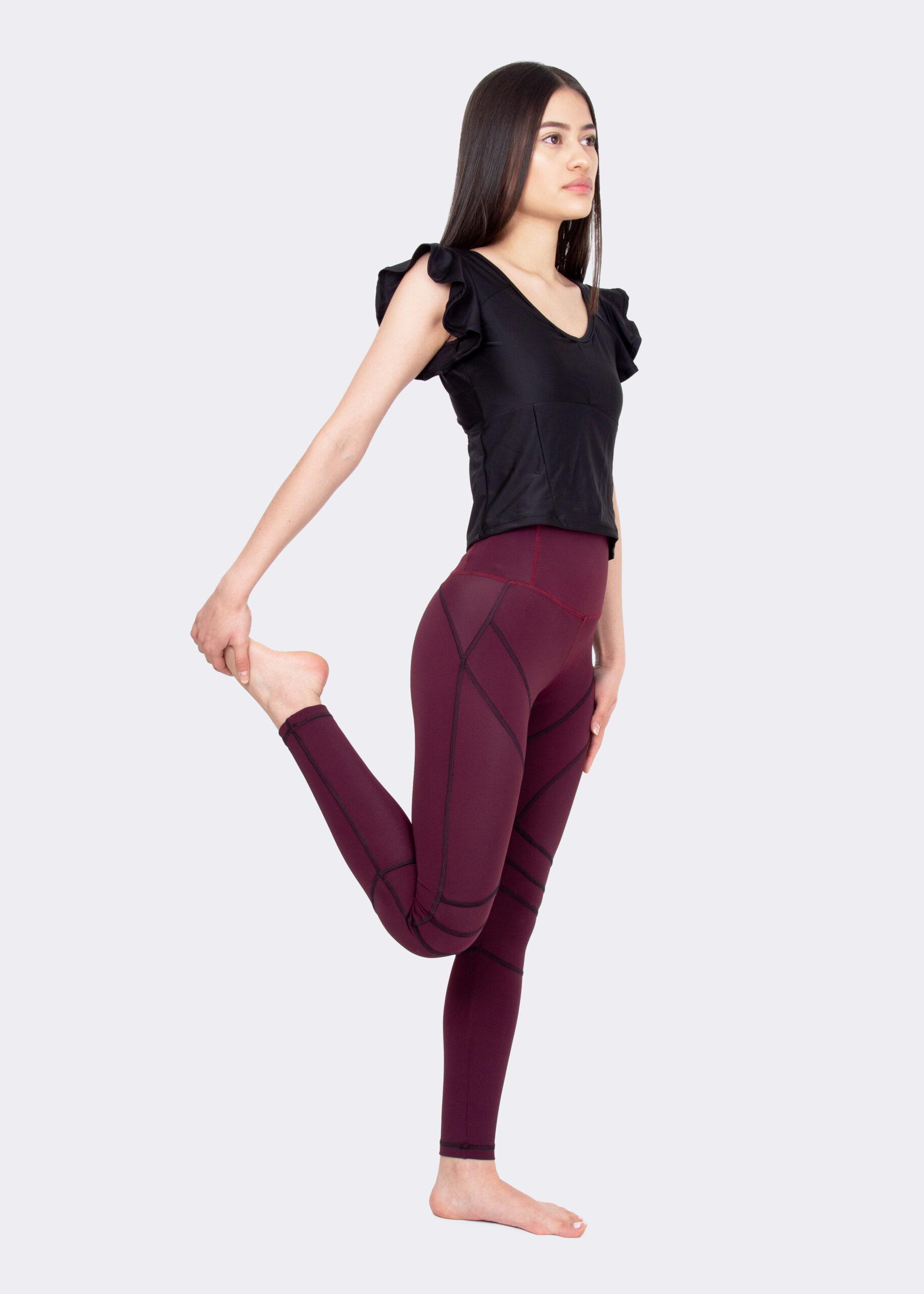 Leggings Jana und Crop Pulse Top