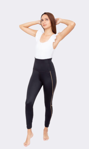 Body Soul Sister White mit Leggins Silke Gold